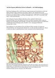 Korrekturen Stadtrundgang - Die Stadt Hameln und ihre Juden