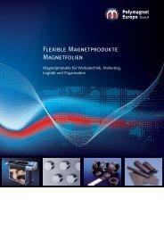 Flexible Magnetprodukte Magnetfolien