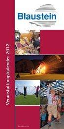 Veranstaltungskalender 2012 - Blaustein