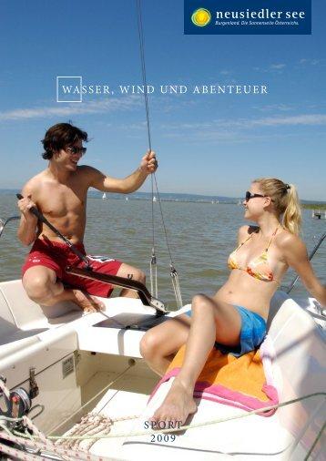 SPORT 2009 WASSER, WIND UND ABENTEUER - Neusiedler See
