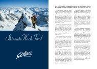 Der 3. Tag - Skiroute Hoch Tirol