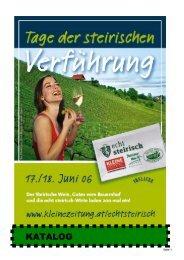 KATALOG - Steirischer Wein / Die Marktgemeinschaft Steirischer Wein