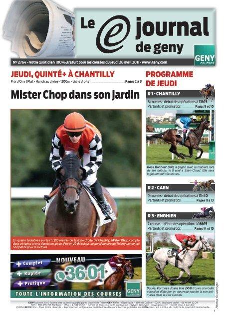 journal - Geny