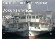 Dokumentation Kulturschiff Ottensheim Idee - Vorbereitung