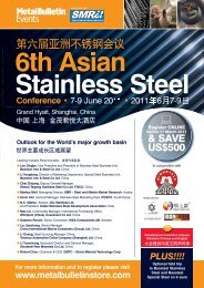 6th Asian Stainless Steel - Metal Bulletin Store
