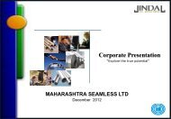 Corporate Presentation - Jindal Group of Companies