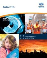 105th Annual Report 2011-2012 - Tata Steel