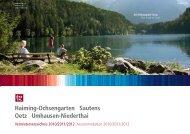 Haiming-Ochsengarten Sautens Oetz Umhausen-Niederthai - Sölden