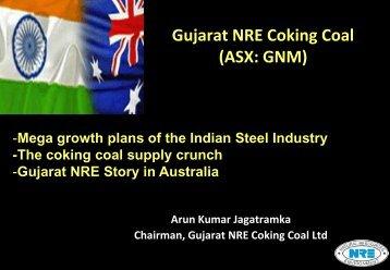 BOARD OF DIRECTORS - Gujarat NRE Coke Limited