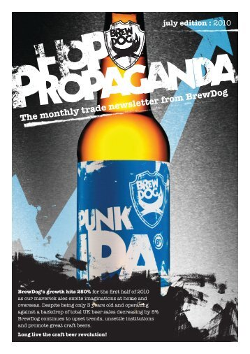 July Edition - BrewDog