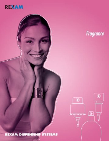 Fragrance Pumps - Pompes Parfum - Rexam Catalogue