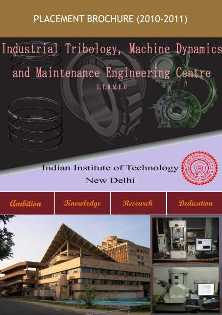 Industrial Tribology and Maintenance Engineering - Training