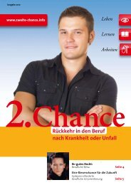 2. Chance - Die Deutschen Berufsförderungswerke