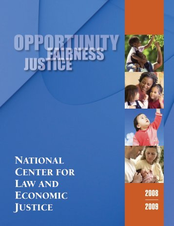 OPPORTUNITY - National Center for Law and Economic Justice