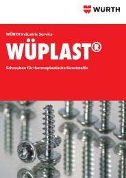 wüplast® w 1411 - Würth Industrie Service GmbH & Co. KG