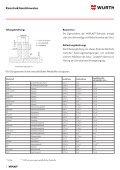 wüplast® w 1411 - Würth Industrie Service GmbH & Co. KG - Seite 6