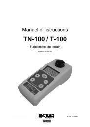 TN-100 / T-100 - Eutech