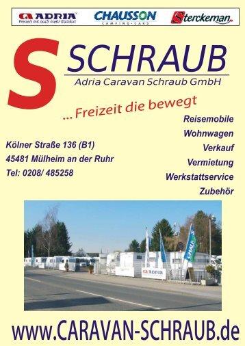 neue Reisemobile - Schraub GmbH