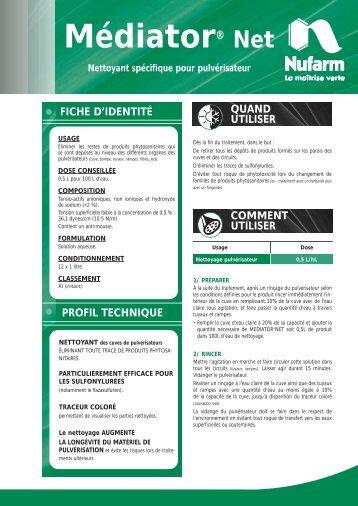 Médiator® Net - Nufarm