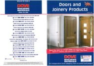 Doors and Joinery - JT Dove