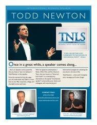 Todd Newton One Sheet - Draft 3