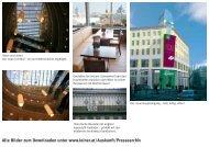 Alle Bilder zum Downloaden unter www.leiner.at/Auskunft ...