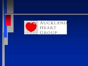 Highly sensitive troponin assay - Auckland Heart Group