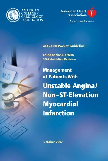 of Patients With Unstable Angina - My American Heart - American ...