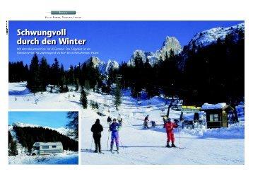 Schwungvoll durch den Winter - Bildarchiv / Bildagentur Neudert