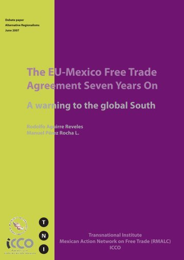 The EU-Mexico Free Trade - Transnational Institute