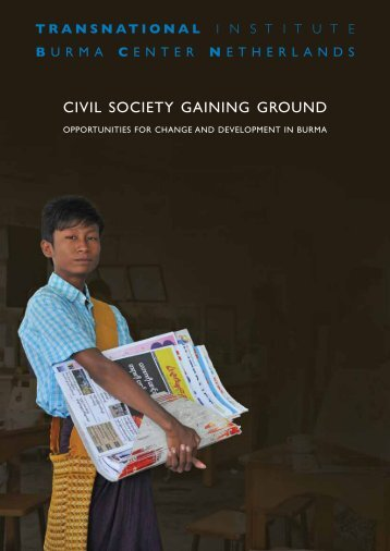 Civil Society Gaining Ground [PDF 1.37MB] - Transnational Institute