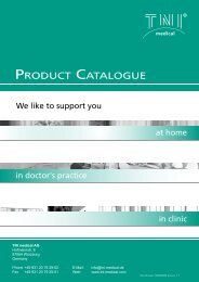 Download Product catalogue - TNI medical AG