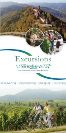 Excursions Discovering - Upper Rhine Valley