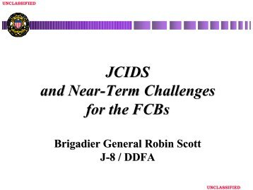 Brig Gen Robin Scott (USAF), Joint Staff J - Defense Acquisition ...