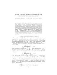 ON THE UNIFORM DISTRIBUTION MODULO 1 OF ...