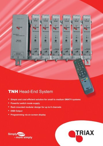 tnh technical specification - Triax