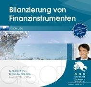 Bilanzierung von Finanzinstrumenten - ARS