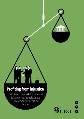 Profiting from injustice - Transnational Institute