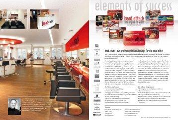 """CLIPS Sonderheft """"mein neuer Salon"""", Juli 2010 - head attack"""