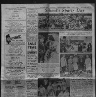 School's Sports Day - St. John the Baptist Parish Church. Ermine ...