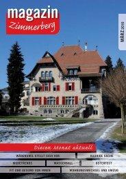 Ausgabe März 2010 - Zimmerberg-Magazin