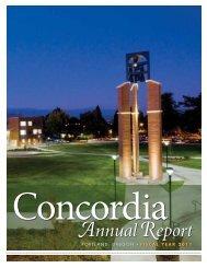 AnnualReport - Concordia University