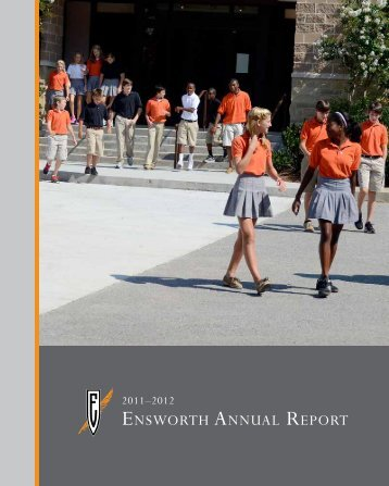 annual report 2011-2012 - Ensworth School