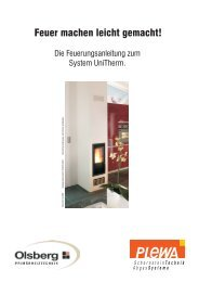 18. Unitherm Feuerungsanleitung