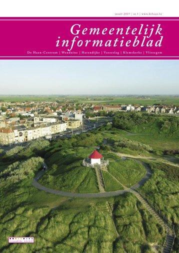 Informatieblad maart 2007 - De Haan