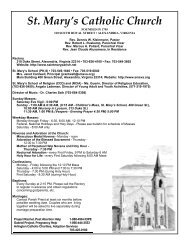 St. Mary's Catholic Church - Saint Mary Catholic Church
