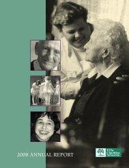 2008 ANNUAL REPORT - Villa Charities
