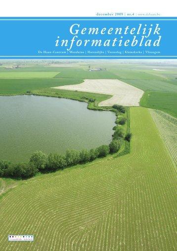Informatieblad december 2008 - De Haan