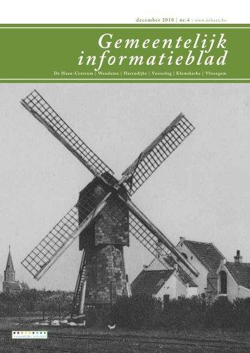 Gemeentelijk Informatieblad december 2010 - De Haan