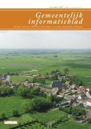 Informatieblad december 2007 - De Haan